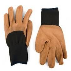 Working glove brown